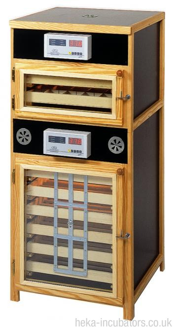 HEKA Euro-Lux Oslo - Poultry Egg Incubator and Hatcher