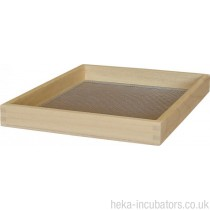 Extra Wooden Poultry Egg Hatching Basket (with optional cover) - Size 6