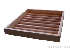 Extra Wooden Poultry Egg Incubating Tray - Size 2