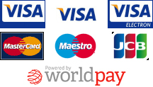 Payments accepted via WorldPay
